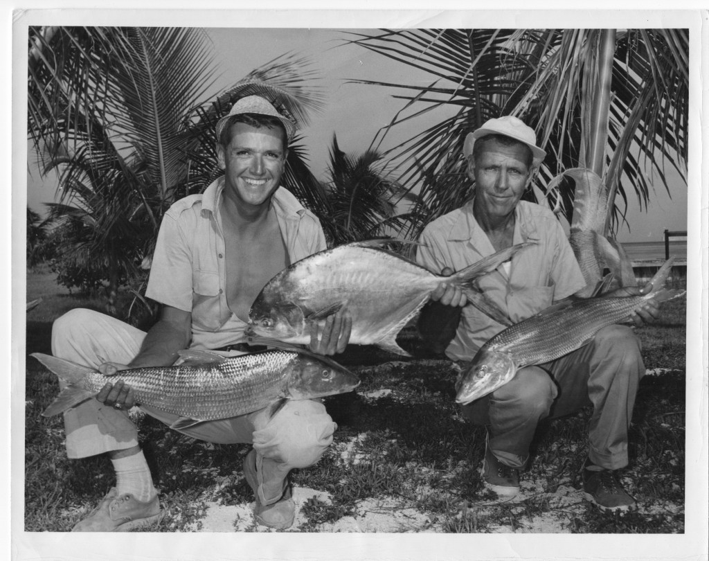 Gentry Gorton first bonefish angler 1958
